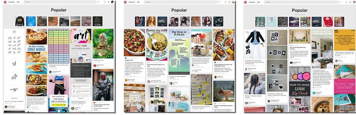 What Is Popular On Pinterest?
