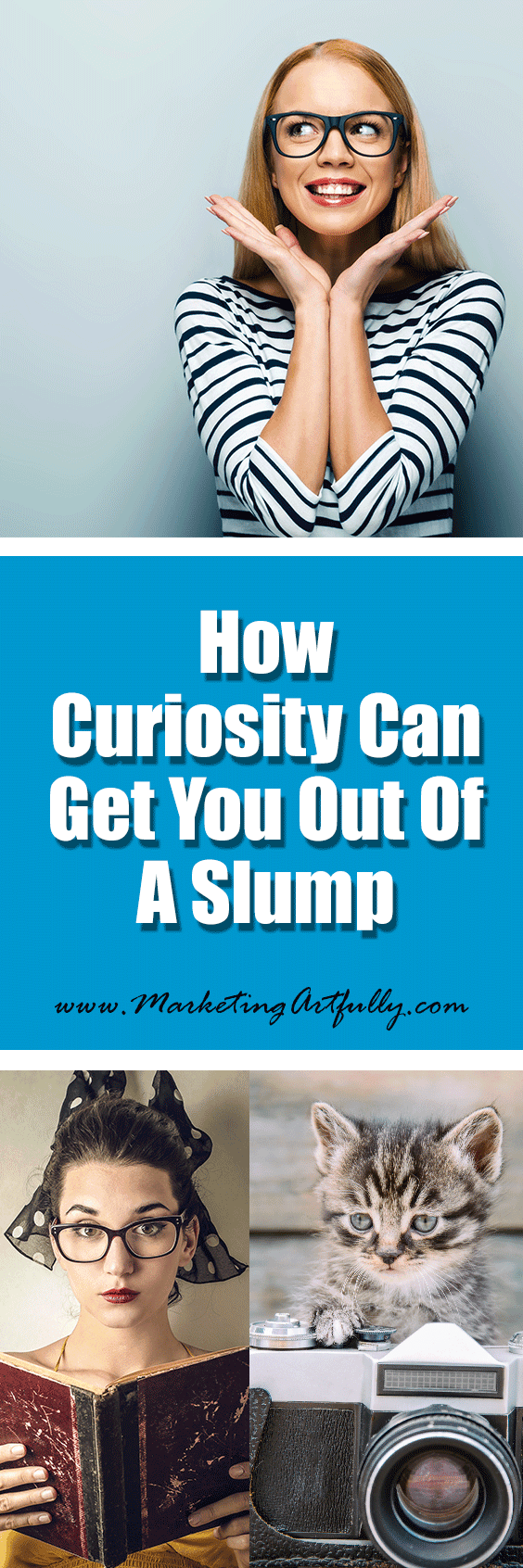 How Curiosity Can Get You Out of A Slump | Entrepreneur Marketing Mindset ... Just these last two weeks I hit a wall, fell off the wagon, lost my way. Usually I am the Energizer Bunny of business, churning out blog posts, working for my clients and generally being a work-a-holic. Then we decided to move and the wheels fell off!