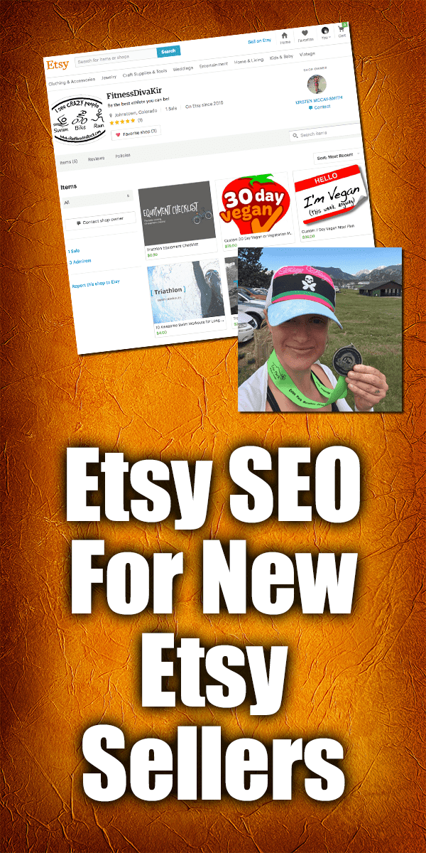 Etsy SEO For New Etsy Sellers | When you are starting your Etsy shop one of the most intimidating things you can hear about is Etsy SEO. It seems like everyone talks about it but no one really is great at explaining how to do it or what it is!