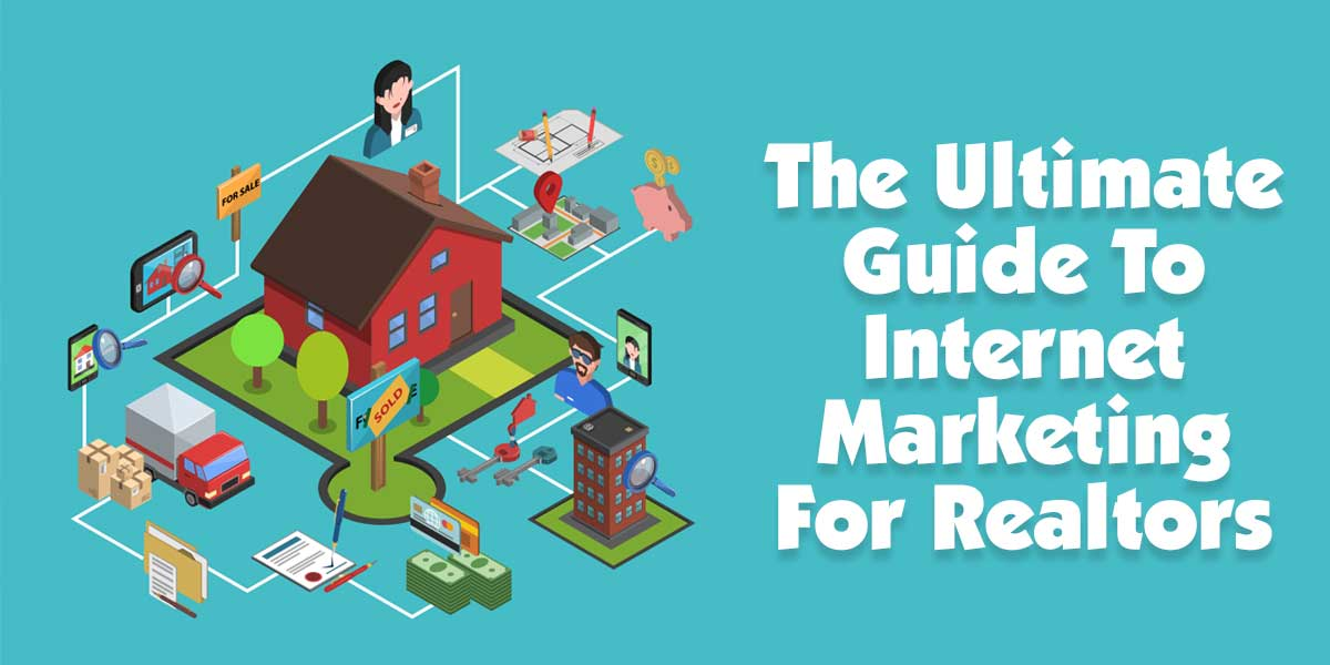 The Ultimate Guide To Internet Marketing For Real Estate Agents | This post is going to go over the steps of making your website a lead generating machine that spits out prospects for your real estate business at the other end!