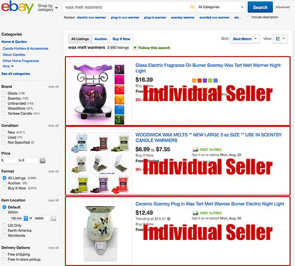 Ecommerce Notes Why Do People Shop On Ebay Etsy Or Amazon