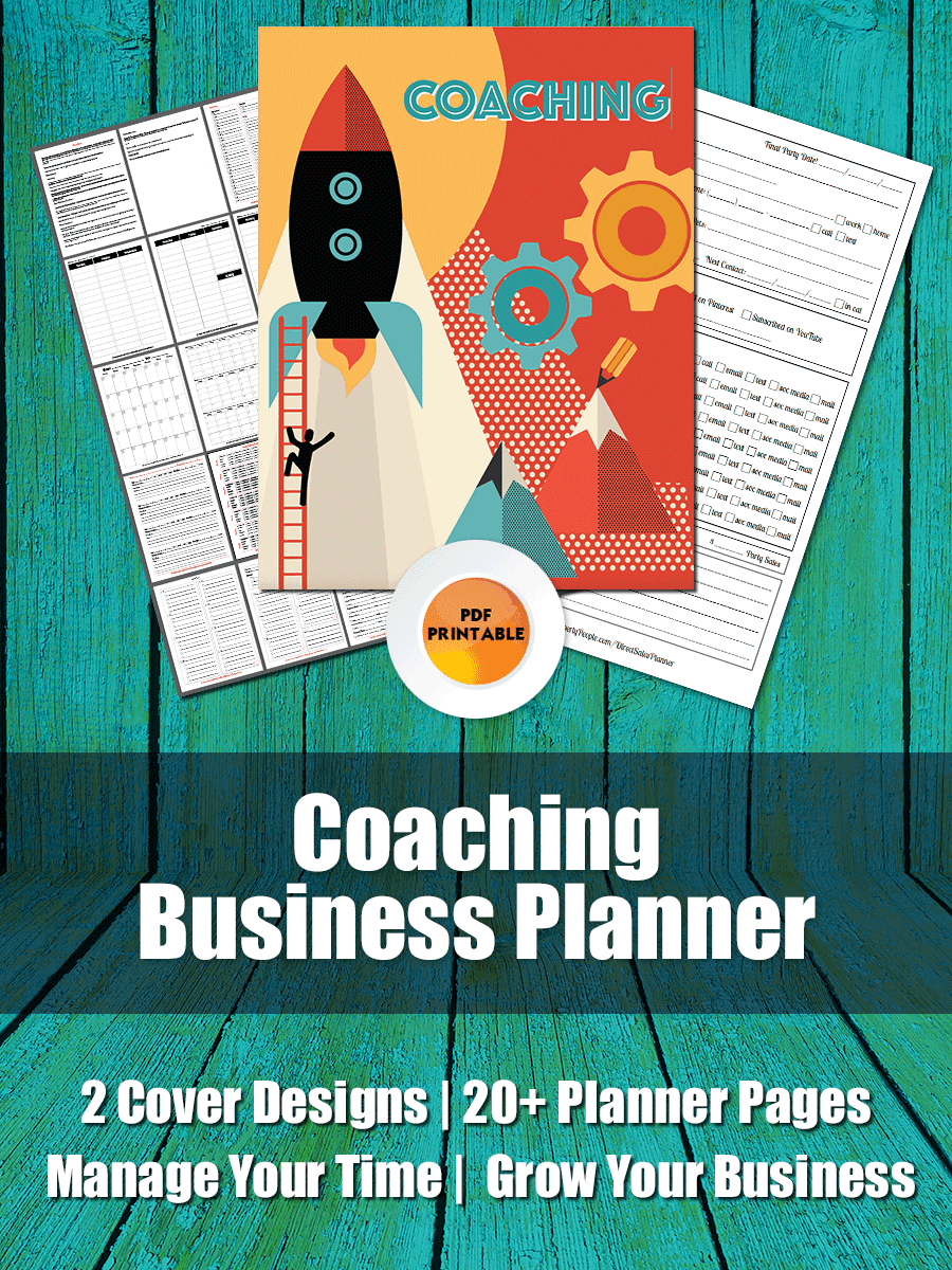 Marketing Artfully Coaches Planner