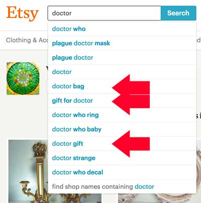 Doctor Bag Etsy Keyword Search