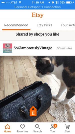 Etsy Shop Updates - Etsy App