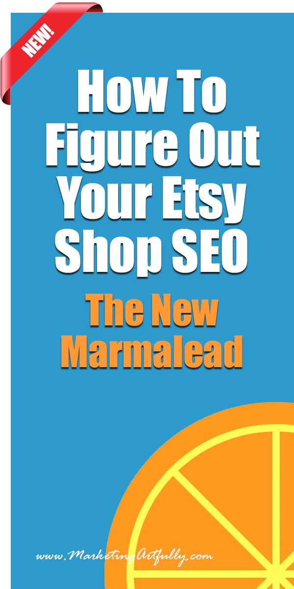 How To Figure Out Your Etsy Shop SEO | The New Marmalead | When you are doing your Etsy SEO you probably have lots of questions… Which of my listing are doing well? Which are doing badly? What keywords should I target and how can I find the darn good ones? What can I use to find out how my listings are doing?