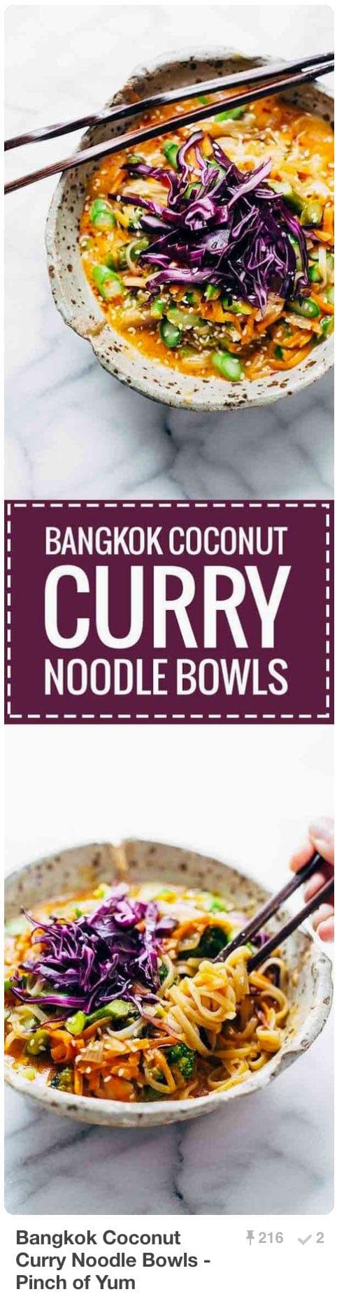 Pinnable Pinterest Pins - Bangkok Curry