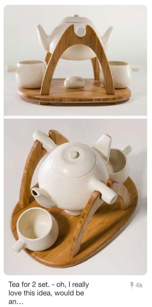 Pinnable Pins - Teapot Product Photos