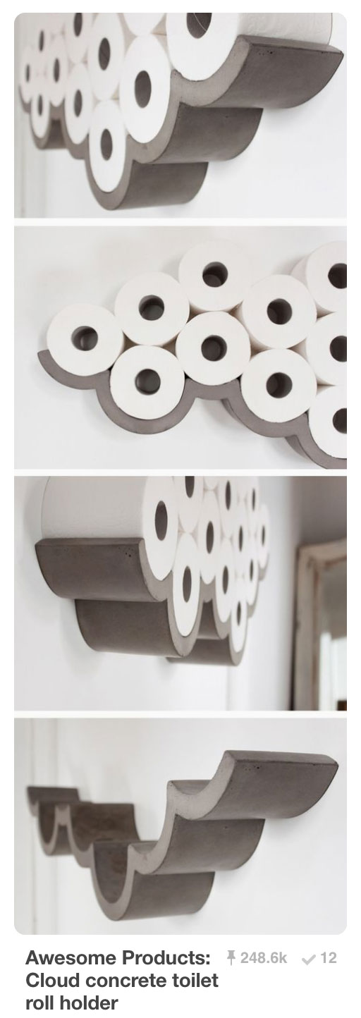 Pinnable Pins - Toilet Paper Roll