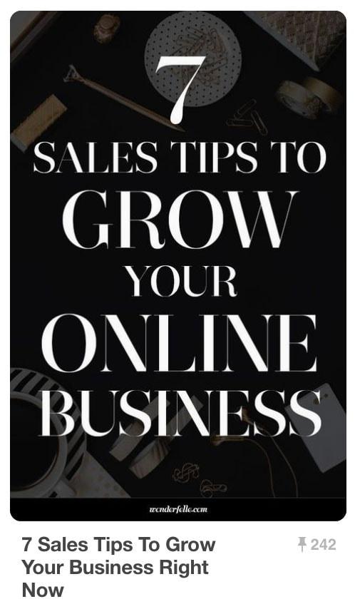 Pinnable Pinterest Pins - Grow Online Business