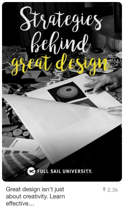 Pinnable Pinterest Pins - Great Design