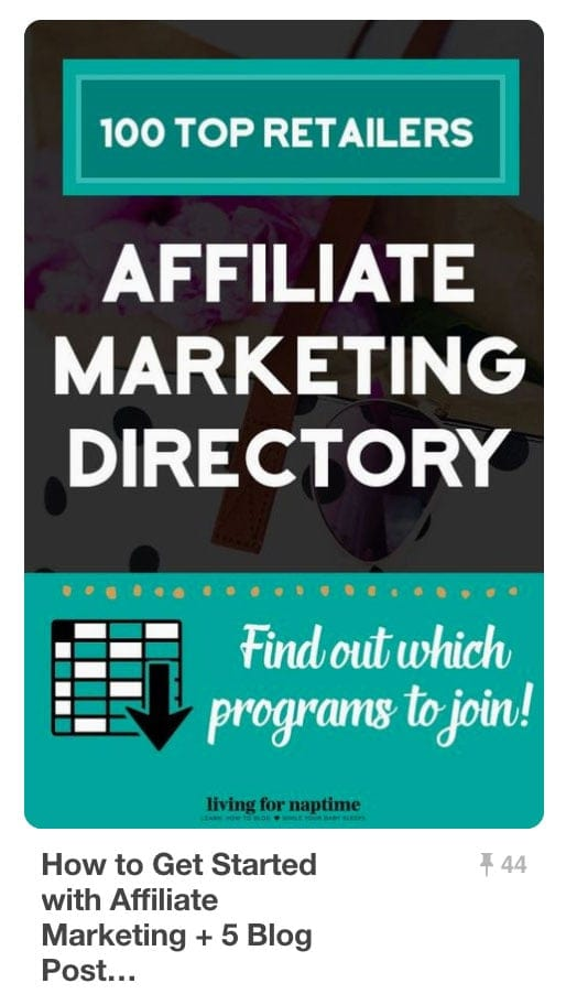 Pinnable Pinterest Pins - Affiliate Marketing