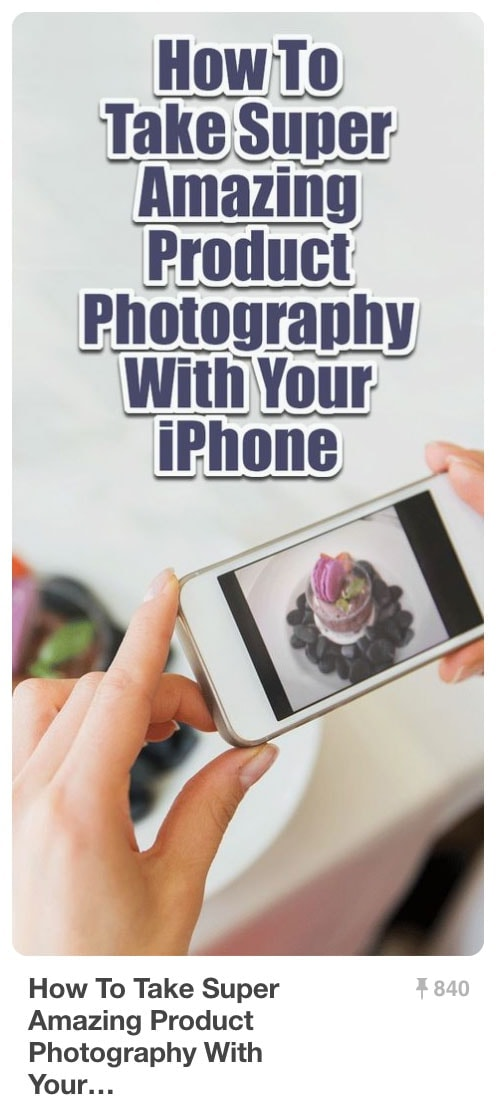 Pinnable Pinterest Pins - iPhone Photography