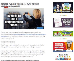 Realtor Marketing Sidebar - Genesis Simple Sidebars