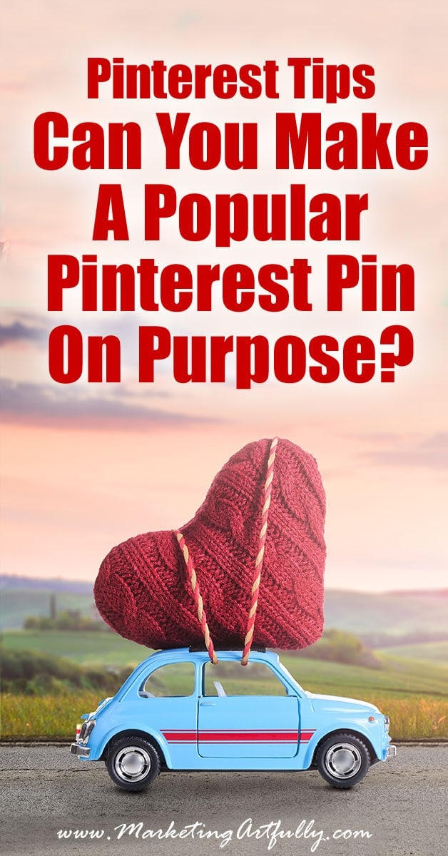 Can You Make A Popular Pinterest Pin On Purpose? - Pinterest Tips... Is is possible to deliberately make a popular Pinterest pin? Let's get a little nerdy and see if we can figure out ways to make that happen on purpose!