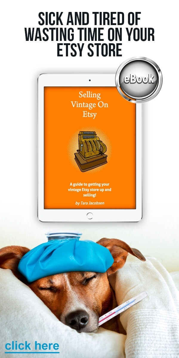 Selling Vintage On Etsy Free Ebook