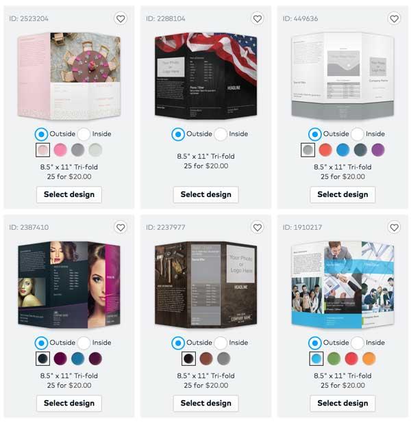Vistaprint Designing Your Brochure