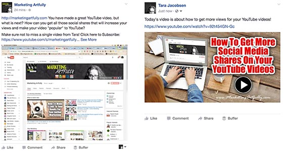 Facebook Comparison YouTube Videos