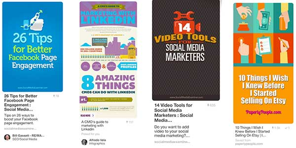 Pinterest Marketing - Illustrations