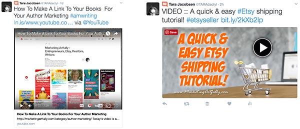 Twitter YouTube Comparison - Video Marketing Social Media