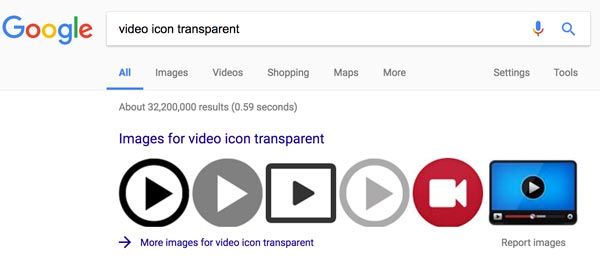 Video Icon Transparent Gif