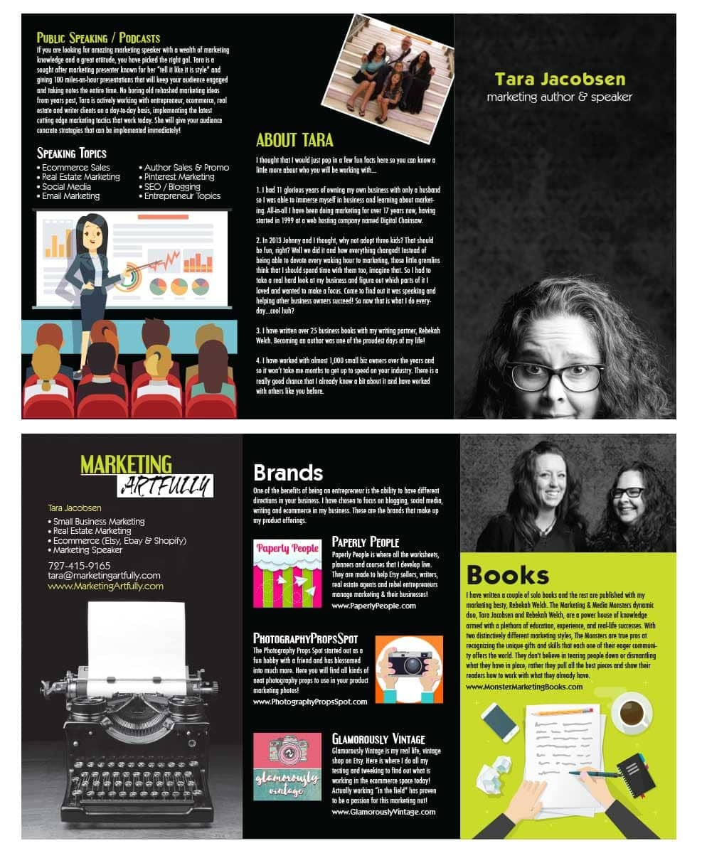 How To Do An Amazing Authority Marketing Brochure From Vistaprint