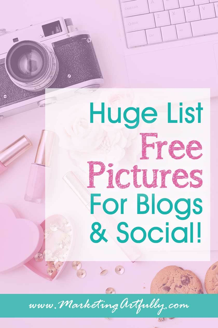 Huge List Free Photos To Use On Your Blog or Social Media... Free Stock Photography Photo Websites. Image Sites With Full Creative Commons License. #photos #stockphotography