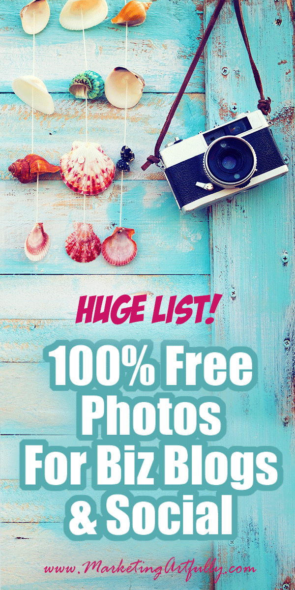 Huge List Free Photography To Use On Your Blog or Social Media... Free Stock Photography Photo Websites. Image Sites With Full Creative Commons License. #photos #stockphotography
