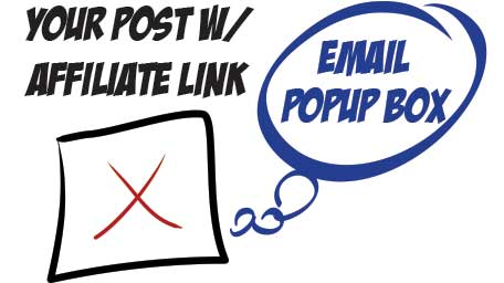 Email Popup Box
