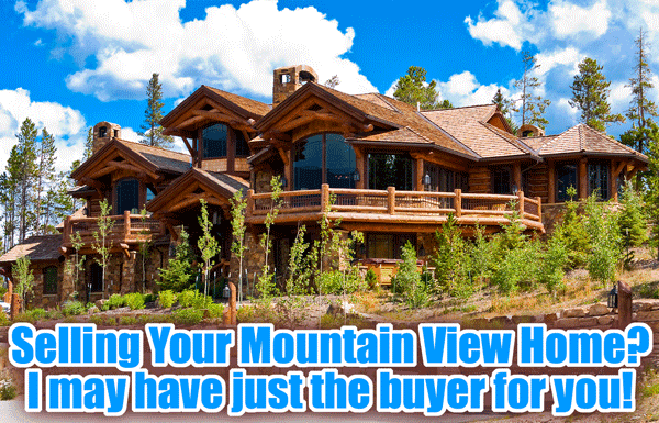 Mountain View Buyers Real Estate Postcard