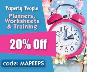 Get 20 Percent Off All My Best Planners, Courses and Worksheets