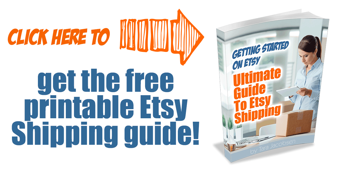 Ultimate Guide To Etsy Shipping Etsy Shipping Tips Marketing