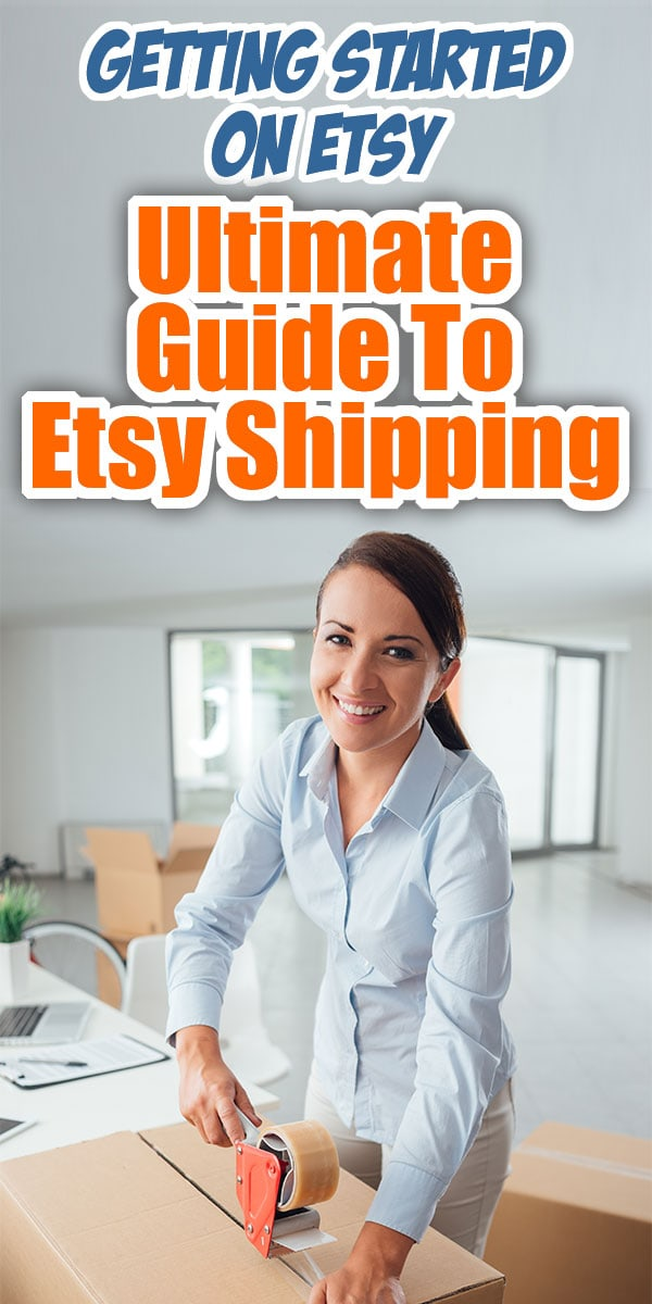 Ultimate Guide To Etsy Shipping - Getting Started On Etsy... All my best Etsy Shipping tips in one place! Whether you need to know about International Shipping, using Etsy shipping labels, Etsy shipping costs or even shipping LARGE items on Etsy, this post will help navigate the whole Etsy shipping experience saving you time & money!