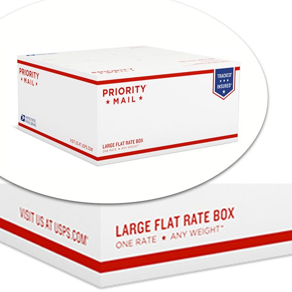 USPS Large Flat Rate Priority Mail Box