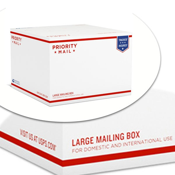 USPS Large Priority Mail Box