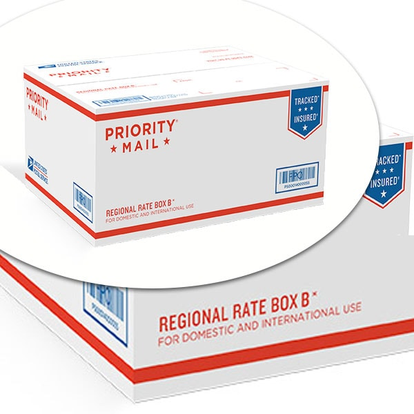 USPS Priority Mail Regional Rate Box