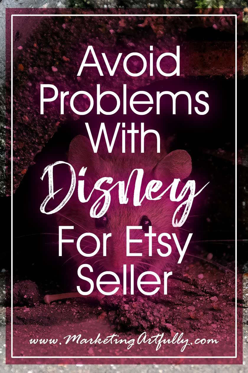 "How To Avoid Violating Disney Copyright Laws… As an Etsy shop owner, understanding Disney copyright laws can be hard. Seeing all those Etsy Disney shops may make you think selling Disney themed products is okay. Here are my best tips and ideas for selling ""Disney"" legally."
