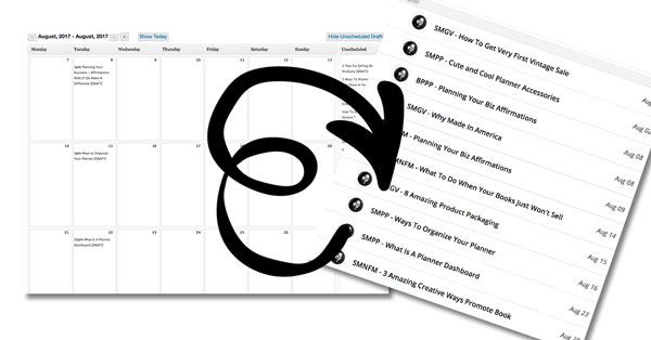 Editorial Calendar To Wrike Task List In One Easy Step