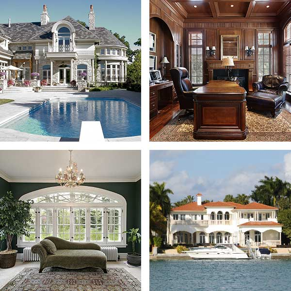 Foursquare of Luxury Homes