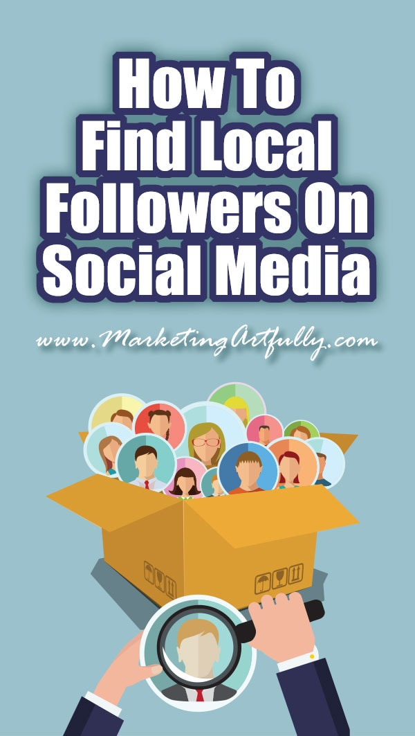 How To Find Local Followers On Social Media ... If you have a local business, like real estate agents, contractors or retail, finding local followers on social media is super important. Yes, numbers of followers matter, but if you are using social media to grow your business then having people within a certain radius of your biz is super important.