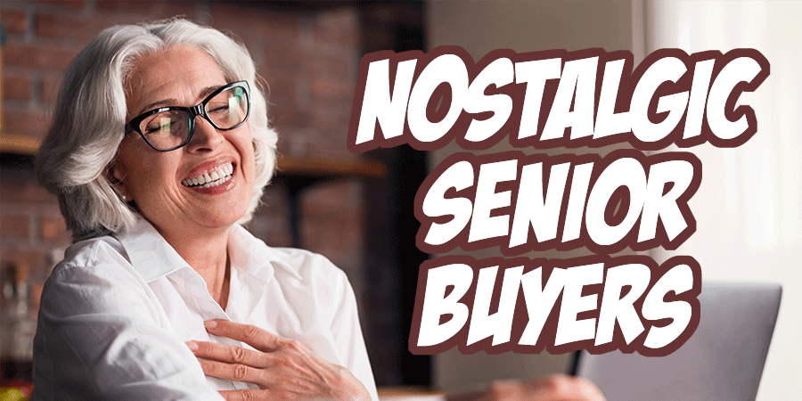 Nostalgic Senior Buyers - Ecommerce Buyer Pesonas