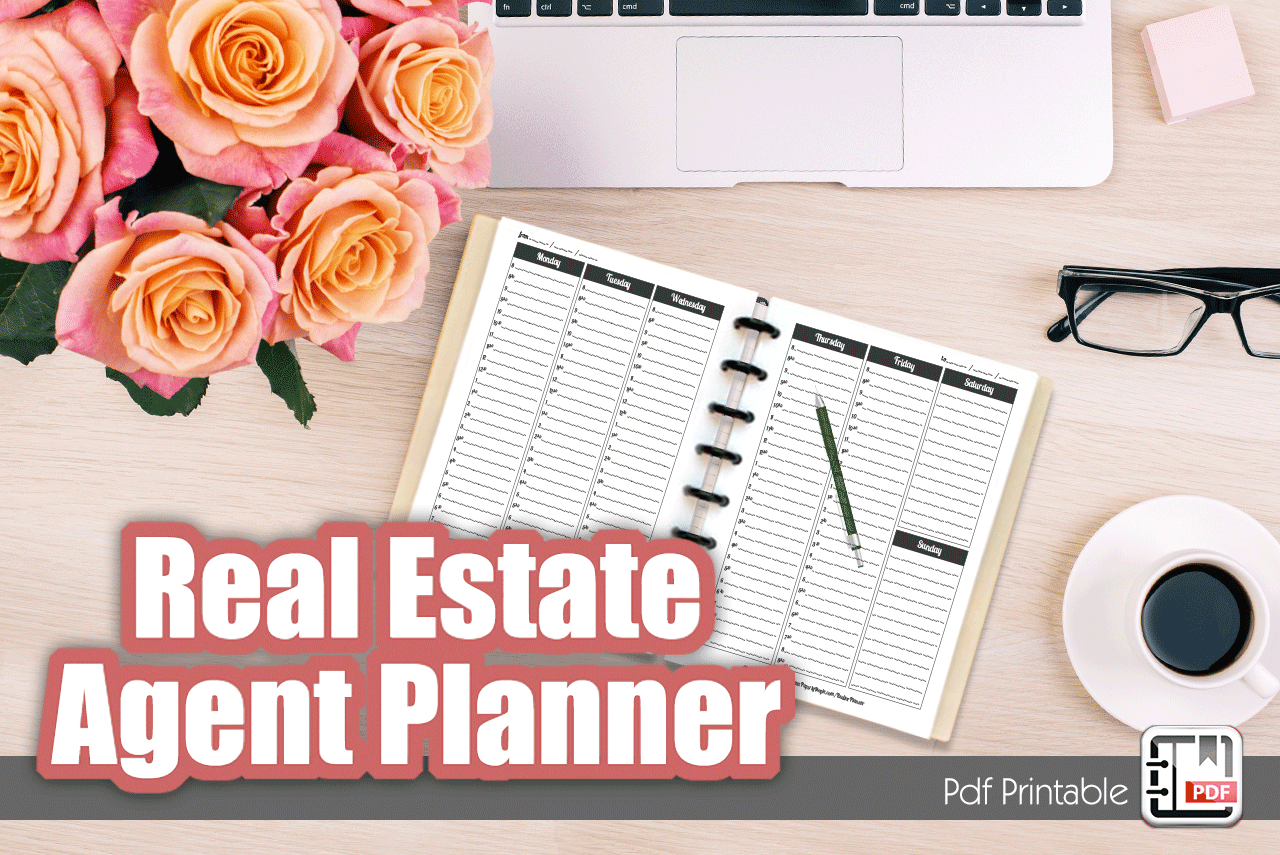 Real Estate Agent Planner Banner
