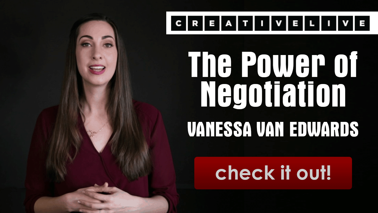 Power of Negotiation with Vannessa with Van Edwards