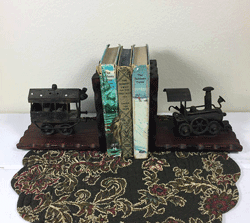 Railroad Bookends