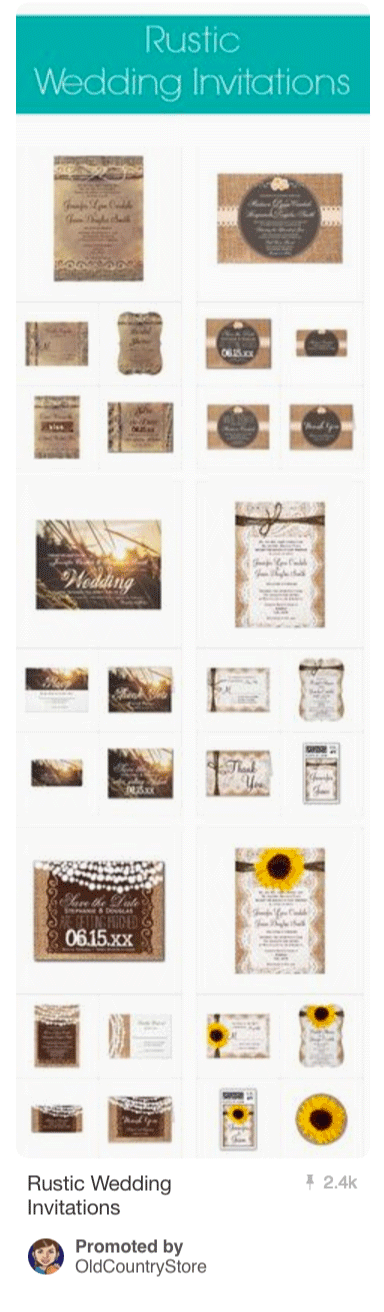 Rustic Wedding Creations