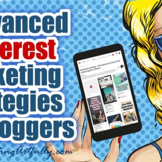 3 Advanced Pinterest Marketing Strategies For Bloggers... These Pinterest marketing strategies can focus your blogging efforts, save time & increase traffic. Data driven tips & ideas for SEO nerds like me!