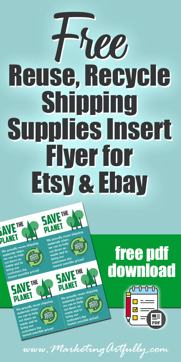 Reusing Shipping Supplies For Etsy or Ebay    Tacky or Cost