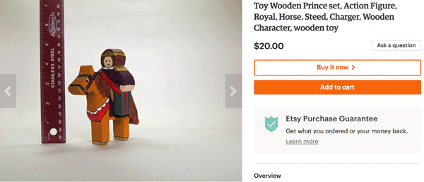 Chasing Sawdust Wooden Prince