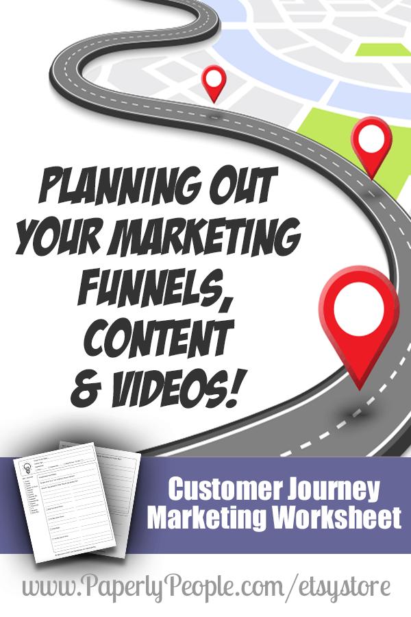 Customer Journey Worksheet - Paperly People