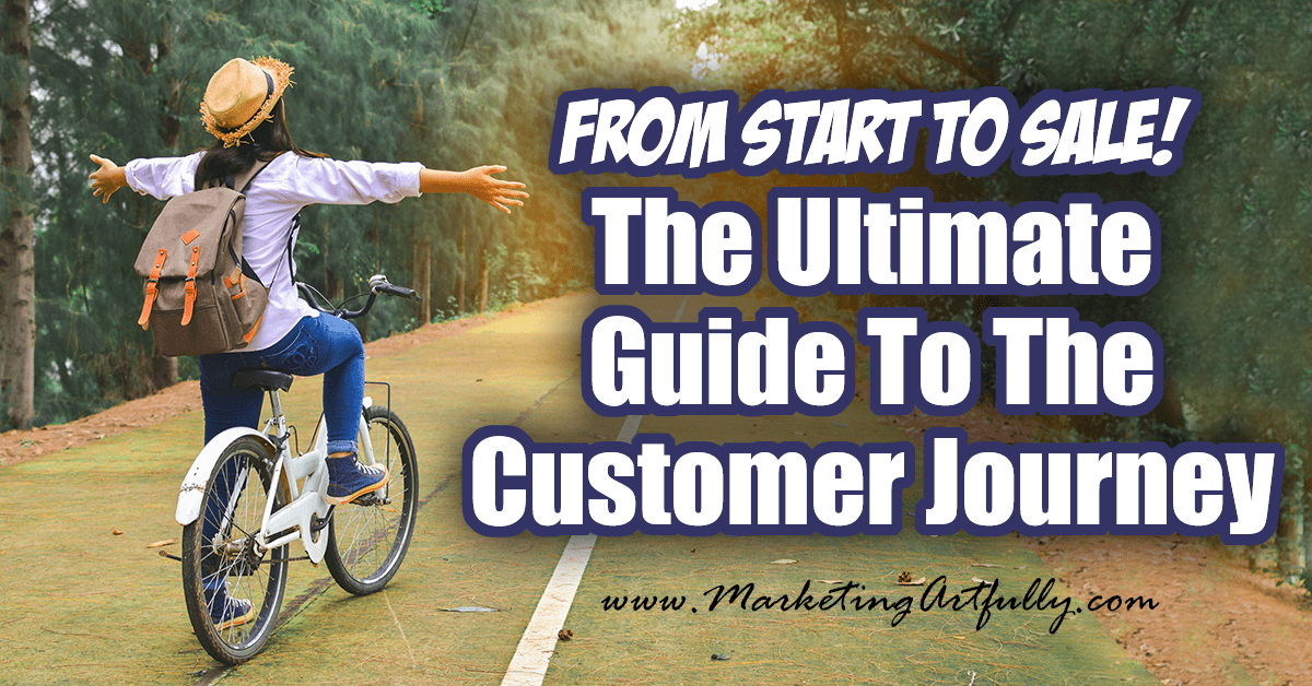 What is the customer journey? It is the path a person takes from not even knowing about your product to the time they buy it from YOU! There are specific marketing hacks we can do to interject ourselves into that journey... this post tells you how!