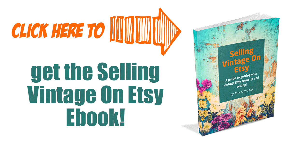 Selling Vintage On Etsy Ebook